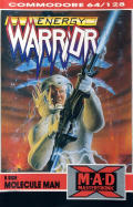 Energy Warrior + Molecule Man Commodore 64 Front Cover