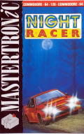 Night Racer Commodore 64 Front Cover