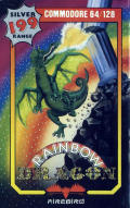 Rainbow Dragon Commodore 64 Front Cover