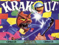 Krakout Commodore 64 Front Cover