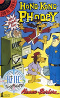 Hong Kong Phooey: No.1 Super Guy Commodore 64 Front Cover