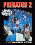 Predator 2 Commodore 64 Front Cover