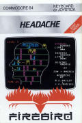 Headache Commodore 64 Front Cover