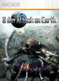 0 day Attack on Earth Xbox 360 Front Cover