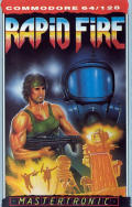 Rapid Fire Commodore 64 Front Cover