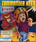 "Commander Keen: ""Goodbye, Galaxy!"" DOS Front Cover"