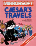 Caesar's Travels Commodore 64 Front Cover