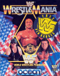 WWF Wrestlemania Commodore 64 Front Cover