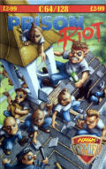 Prison Riot Commodore 64 Front Cover