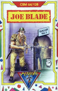 Joe Blade Commodore 64 Front Cover