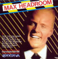Max Headroom Commodore 64 Front Cover