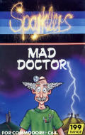 Mad Doctor Commodore 64 Front Cover