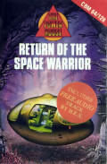 Return of the Space Warrior Commodore 64 Front Cover