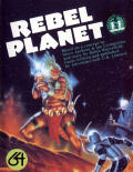 Rebel Planet Commodore 64 Front Cover