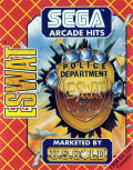 E-SWAT: Cyber Police Commodore 64 Front Cover