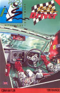 Rally Driver Commodore 64 Front Cover