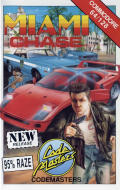 Miami Chase Commodore 64 Front Cover