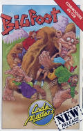 Bigfoot Commodore 64 Front Cover