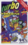Turbo the Tortoise Commodore 64 Front Cover