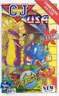 CJ in the USA Commodore 64 Front Cover