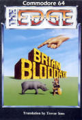 Brian Bloodaxe Commodore 64 Front Cover