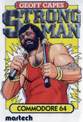 Geoff Capes Strongman Commodore 64 Front Cover