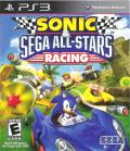 Sonic & SEGA All-Stars Racing PlayStation 3 Front Cover