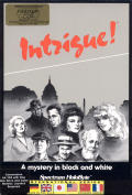 Intrigue! Commodore 64 Front Cover