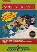 Chinese Hero NES Front Cover