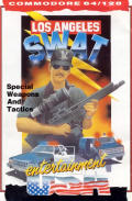 Los Angeles SWAT Commodore 64 Front Cover