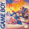 Mega Man IV Game Boy Front Cover