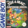 Joe & Mac: Caveman Ninja Game Boy Front Cover