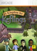 A Kingdom for Keflings Xbox 360 Front Cover