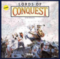 Lords of Conquest Commodore 64 Front Cover