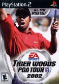 Tiger Woods PGA Tour 2002 PlayStation 2 Front Cover