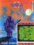 Mission Omega Commodore 64 Front Cover