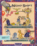 Night Shift Commodore 64 Front Cover
