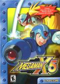 Mega Man X5 Windows Front Cover