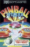 Pinball Wizard Commodore 64 Front Cover