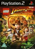 LEGO Indiana Jones: The Original Adventures PlayStation 2 Front Cover