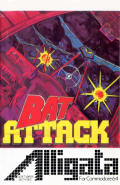 Bat Attack Commodore 64 Front Cover