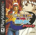 Capcom vs. SNK Pro PlayStation Front Cover