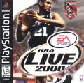 NBA Live 2000 PlayStation Front Cover