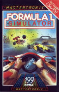 Formula 1 Simulator Commodore 64 Front Cover