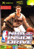 NBA Inside Drive 2003 Xbox Front Cover