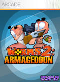 Worms 2: Armageddon Xbox 360 Front Cover