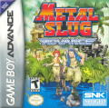 Metal Slug Advance Game Boy Advance Front Cover