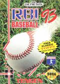 R.B.I. Baseball '93 Genesis Front Cover