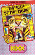 The Way of the Tiger Commodore 64 Front Cover