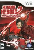 No More Heroes 2: Desperate Struggle Wii Front Cover